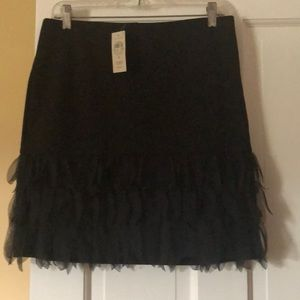 Black Ann Taylor skirt with tags